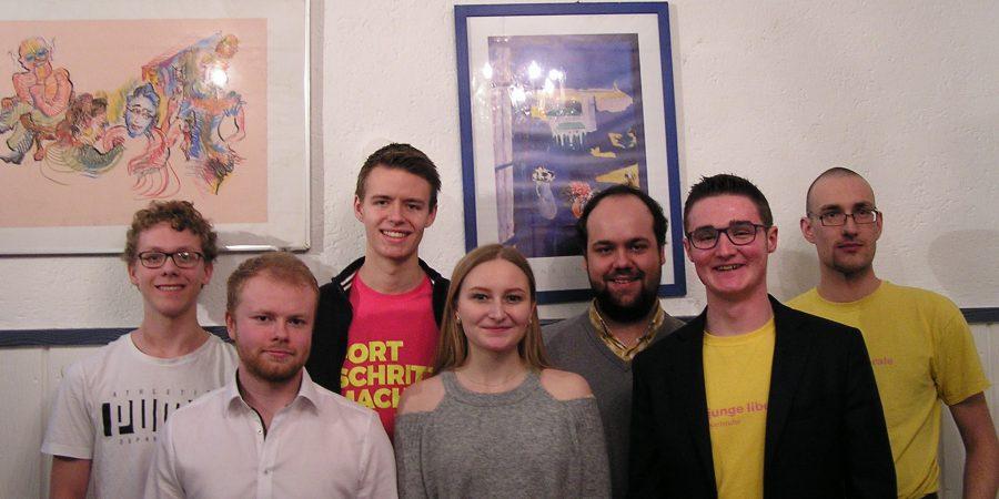 Gruppenfoto des neuen Vorstands.